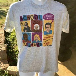 Vintage Graphic T Shirt Adult Medium Single Stitch